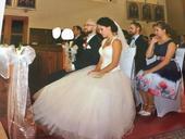 Svadobné šaty - šampaň/ivory- veľkosť 36-42, 38