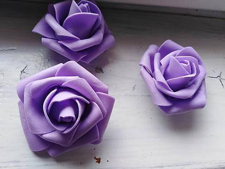 Penová ruža fialová - Obrázok č. 1