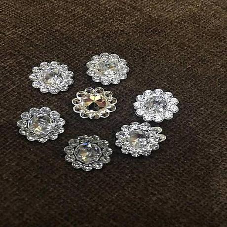 Ozdobných štrasových kamienkov 11 mm - Obrázok č. 1