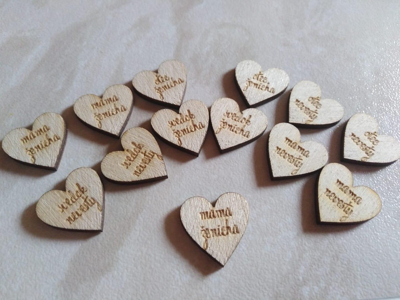 drevene srdiečka na pierka - Obrázok č. 1