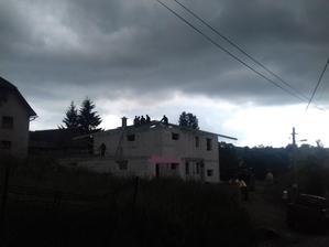 23.6.2018 začíname robiť strechu