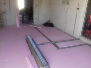 Priprava pod leštený betón