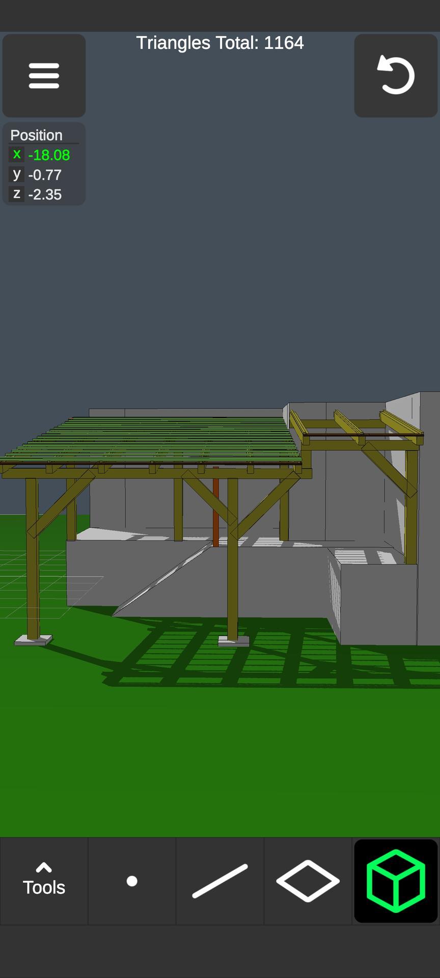 Strecha 3D vyzualizacie terasi, rekonštrukcie...
