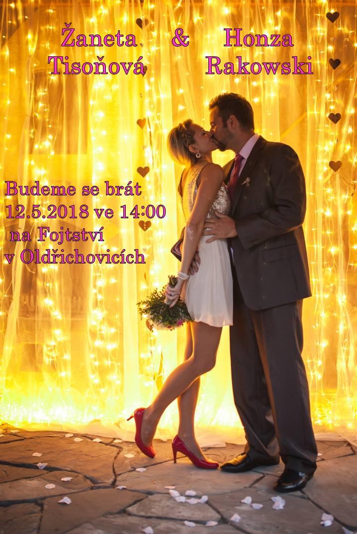 Fuchsiová svatba Žanet a{{_AND_}}Honzi - Obrázek č. 1