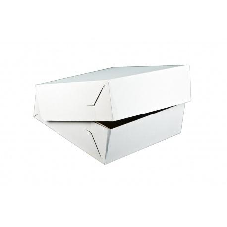 Krabica na tortu vlnitá lepenka 20x20x10cm (50ks) - Obrázok č. 1