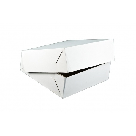 Krabica na tortu vlnitá lepenka 22x22x9cm (50ks) - Obrázok č. 1