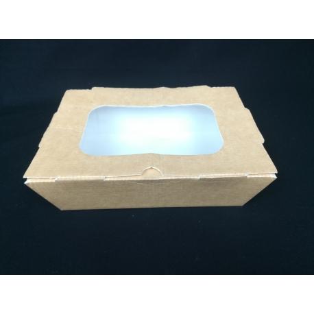 Papierová krabička s okienkom V 110ks - Obrázok č. 1