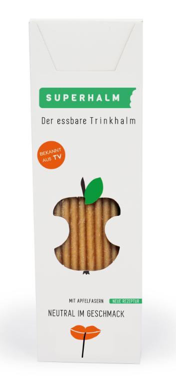 BIO slamka 5mm jablková (50ks) - Obrázok č. 1