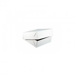 Krabica na zákusky bez ručky biela-K 18x13x8cm (50 - Obrázok č. 1