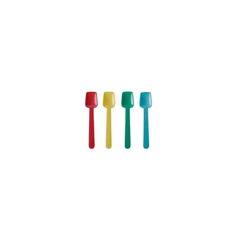 BIO Lyžička na zmrzlinu PLA 93mm farebná (250ks) - Obrázok č. 1