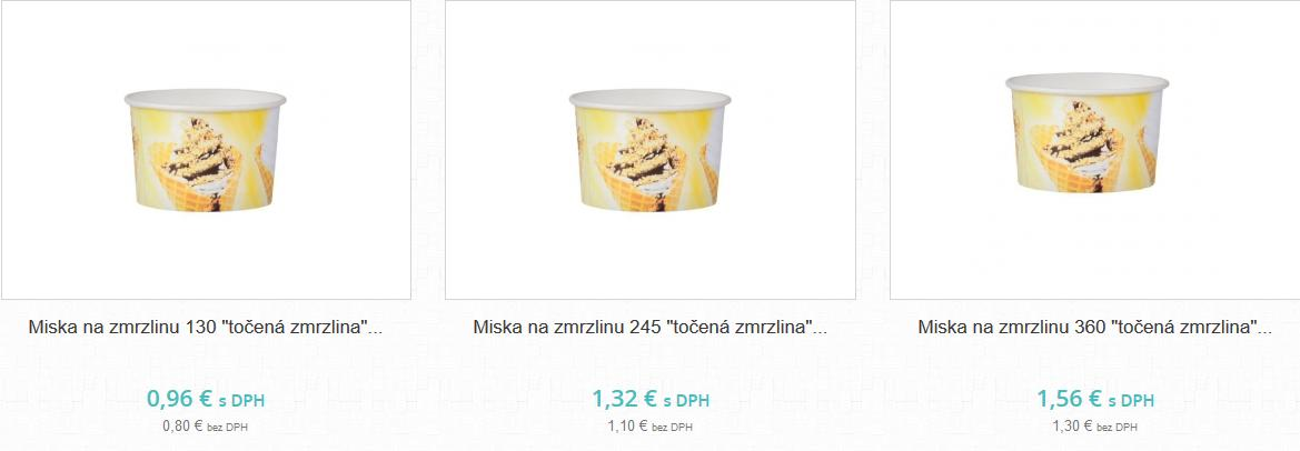 Miska na zmrzlinu - Obrázok č. 1