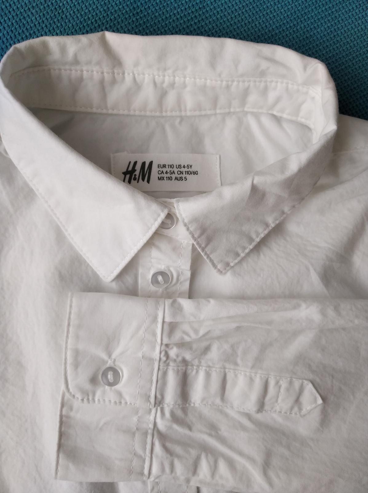 Košile  H&M, vel. 110 - Obrázek č. 1