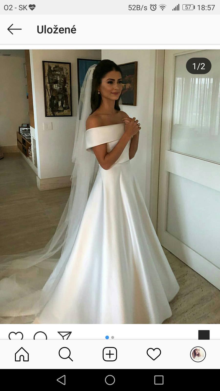 Svadobné šaty výpredaj vs. svadobný veľtrh  - - S... f479eeddc4b