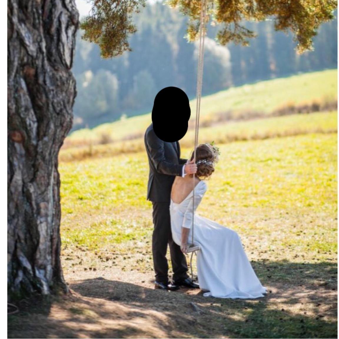 Svadobné jemné šaty - Obrázok č. 3
