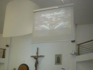V kostolíku na plátne naše mena