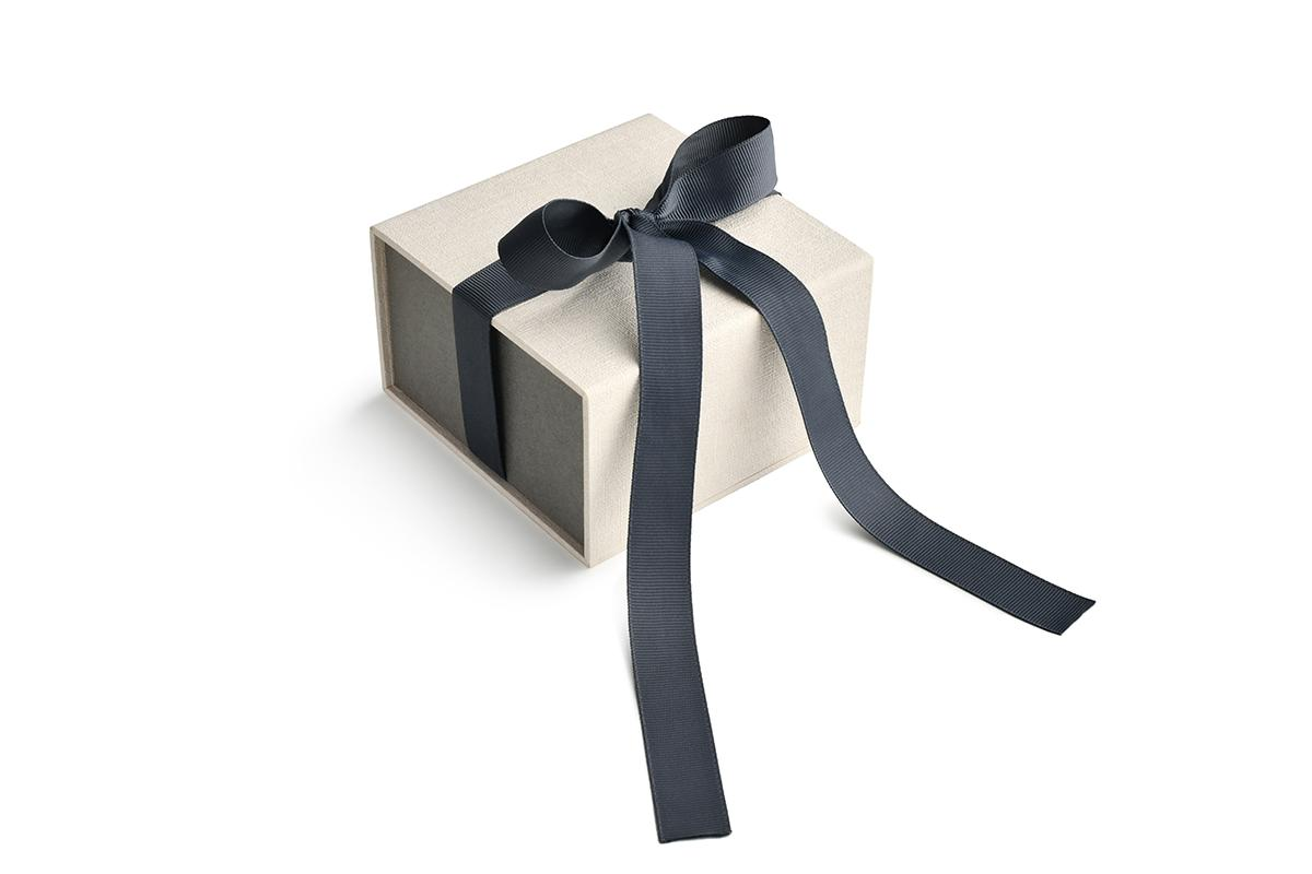 Betonové prsteny Gravelli - Dárkové balení šperků Gravelli