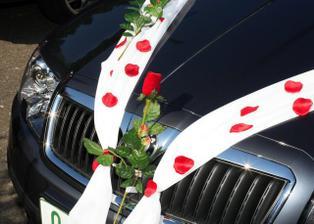 detail dekorace auta