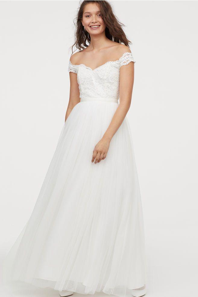 Svadobné šaty H&M - Obrázok č. 1