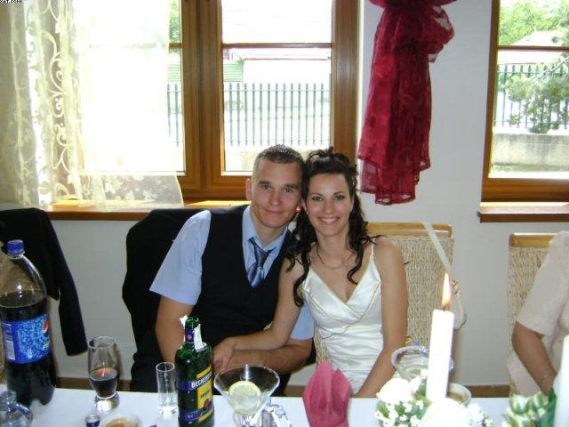 Peťka a Tonko 5.9.2009 :) - tak a to sme my dvaja :)
