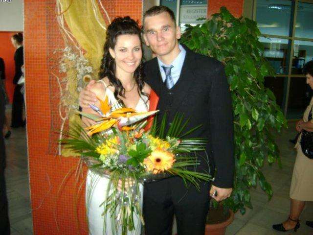 Peťka a Tonko 5.9.2009 :) - moje promocie