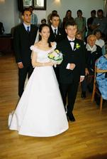 my dva a svědci - the newlyweds and both witnesses