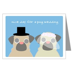 Svadobné mopsíky...alebo Bez psíka sa nevydávam :) - oznamko...:)
