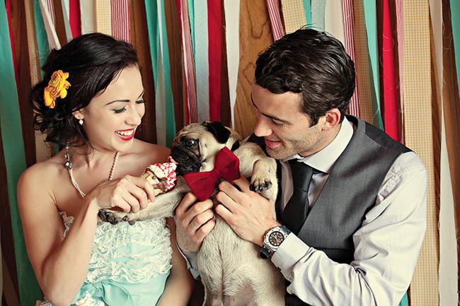 Svadobné mopsíky...alebo Bez psíka sa nevydávam :) - no dá sa mu odolat? :)