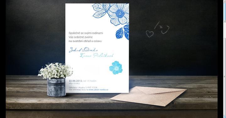 Ivana{{_AND_}}Jakub - Naše svatební oznámení (posílané emailem)