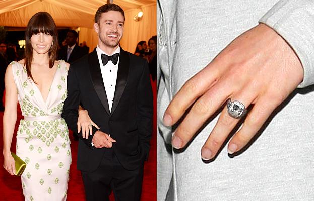 Slavné zásnubní prsteny - Jessica Biel