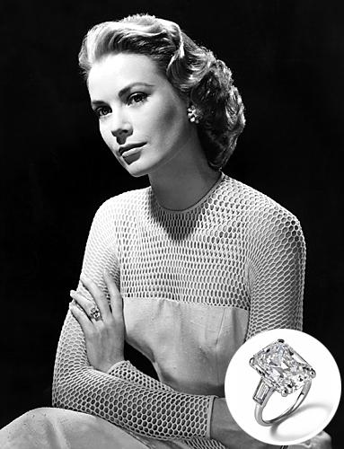 Slavné zásnubní prsteny - Grace Kelly