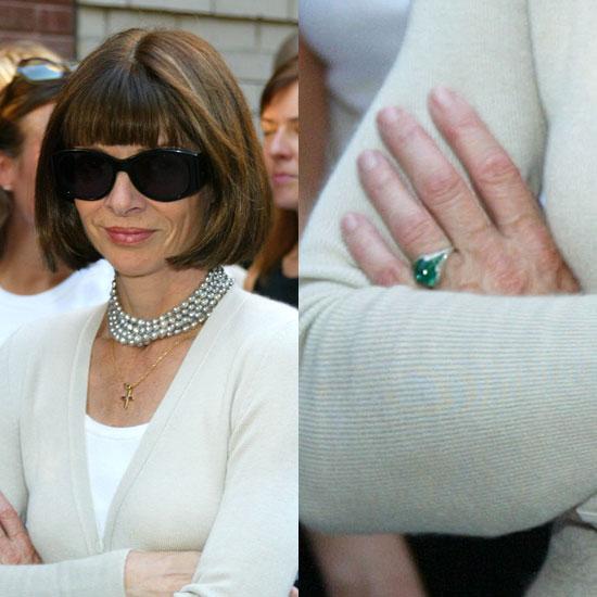 Slavné zásnubní prsteny - Anna Wintour