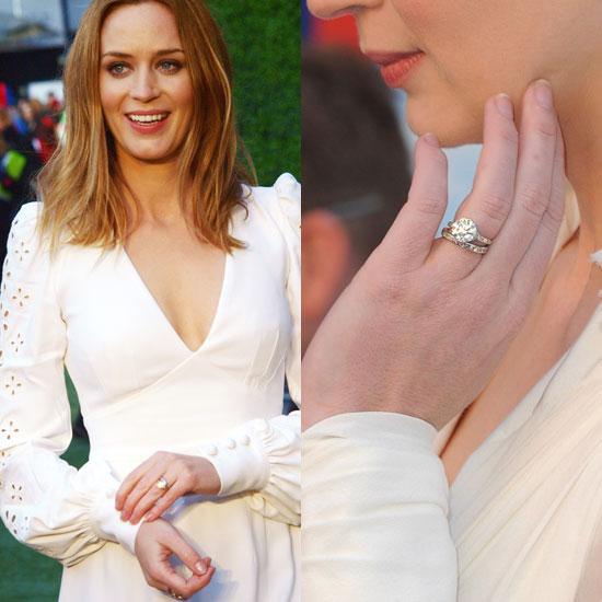 Slavné zásnubní prsteny - Emily Blunt