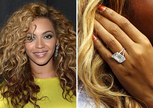 Slavné zásnubní prsteny - Beyoncé