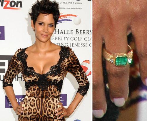 Slavné zásnubní prsteny - Halle Berry