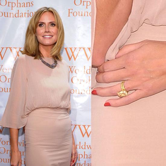 Slavné zásnubní prsteny - Heidi Klum