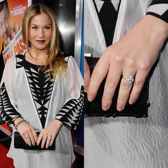 Slavné zásnubní prsteny - Christina Applegate