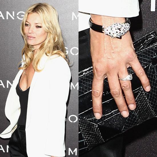 Slavné zásnubní prsteny - Kate Moss