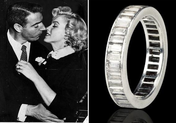 Slavné zásnubní prsteny - Marilyn Monroe