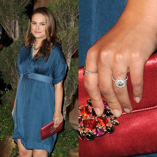 Slavné zásnubní prsteny - Natalie Potrman