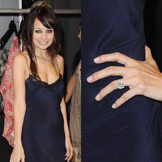 Slavné zásnubní prsteny - Nicole Richie