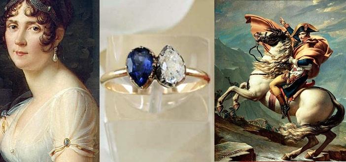 Slavné zásnubní prsteny - Napoleon a Josefína