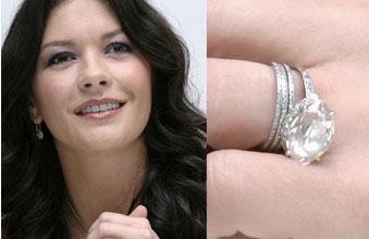 Slavné zásnubní prsteny - Catherine Zeta-Jones