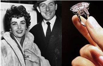 Slavné zásnubní prsteny - Elizabeth Taylor (Michael Todd)
