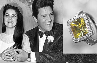 Slavné zásnubní prsteny - Priscilla Presley