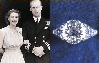 Slavné zásnubní prsteny - Královna Elizabeth II