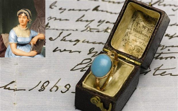 Slavné zásnubní prsteny - Jane Austen