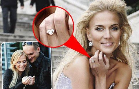 Slavné zásnubní prsteny - Michaela Ochotská