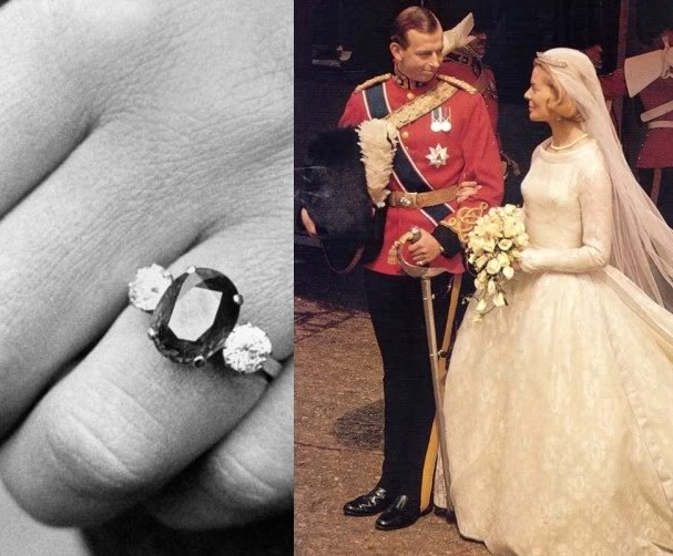 Slavné zásnubní prsteny - Princ Edward, vévoda z Kentu