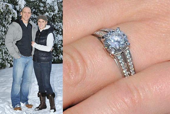 Slavné zásnubní prsteny - Zara Phillips