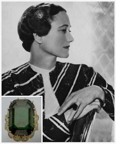 Slavné zásnubní prsteny - Wallis Simpson